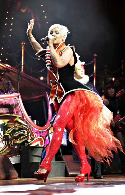 Pink Performing At The O2 In Dublin (USA AND OZ ONLY)